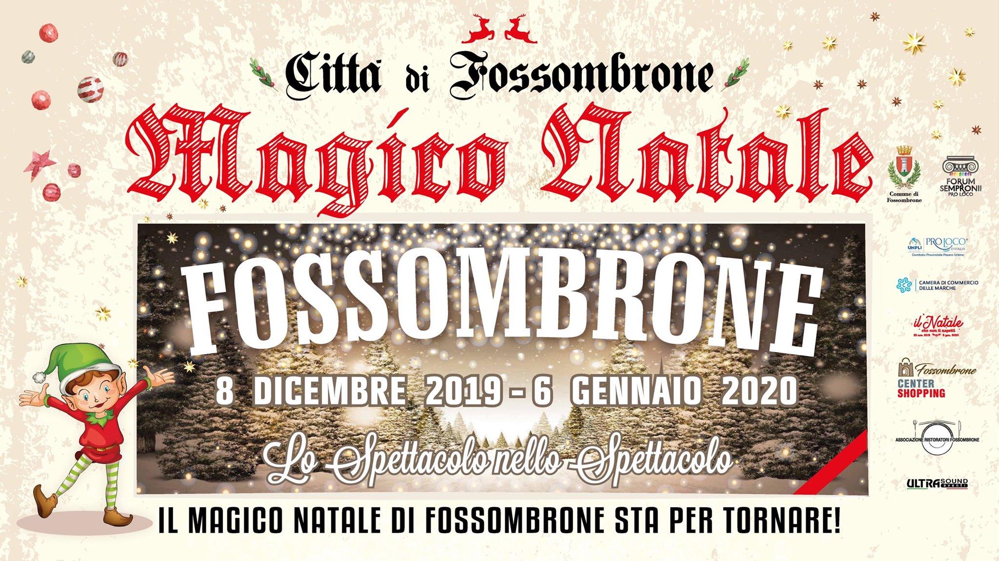 FOSSOMBRONE: Il Magico Natale